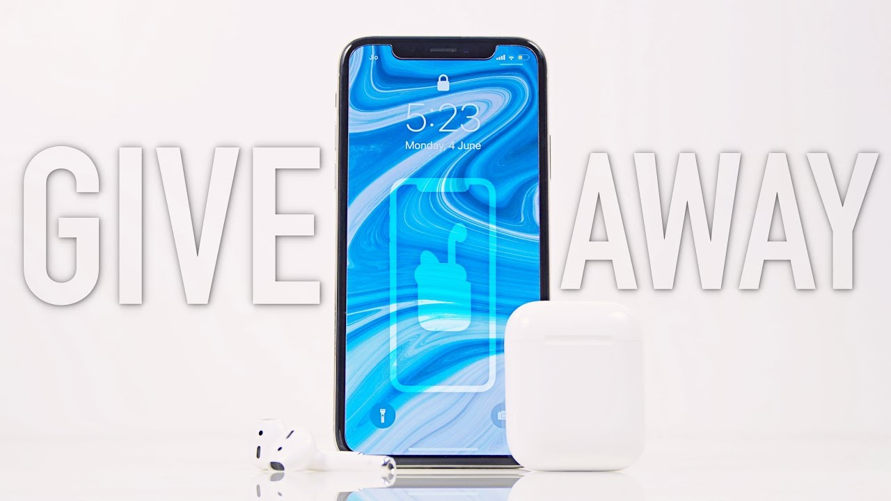 Apple iPhone X & AirPods Giveaway!