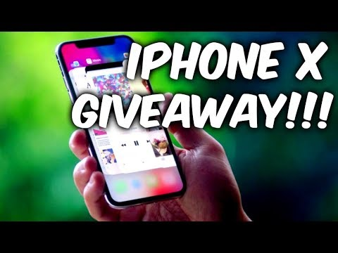 How to get iPhone X for FREE? Big iPhone X giveaway! ( new iPhone ios 12 )