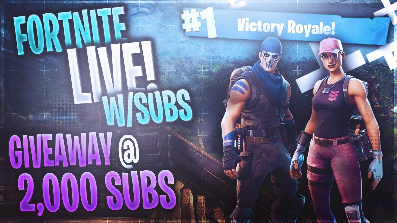 Road to Pro Fortnite Ps4 Player – (Free V Bucks Giveaway at 2k Subs – (Fortnite Gameplay LIVE)