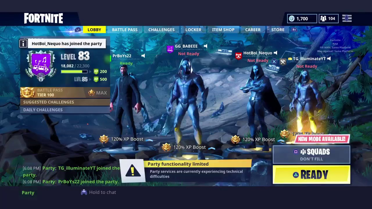 New Skins/Giveaway and Xbox membership right now/New SENS(Fortnite Battle Royale)