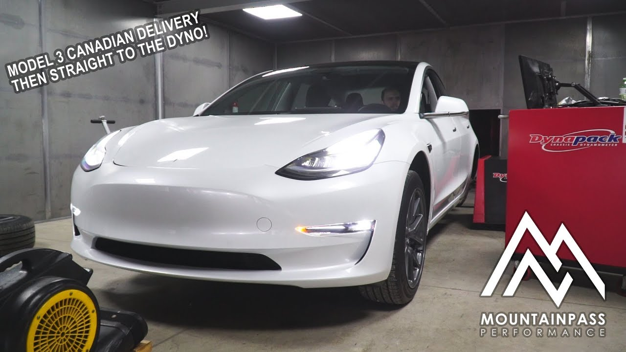 Tesla Model 3 From Canadian Delivery To Dyno