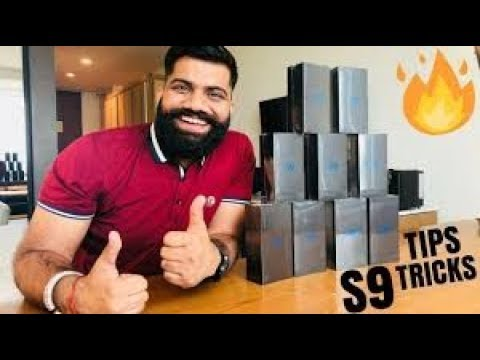 Samsung Galaxy S9 Top Features and Tips Tricks – Galaxy S9 Mega Giveaway