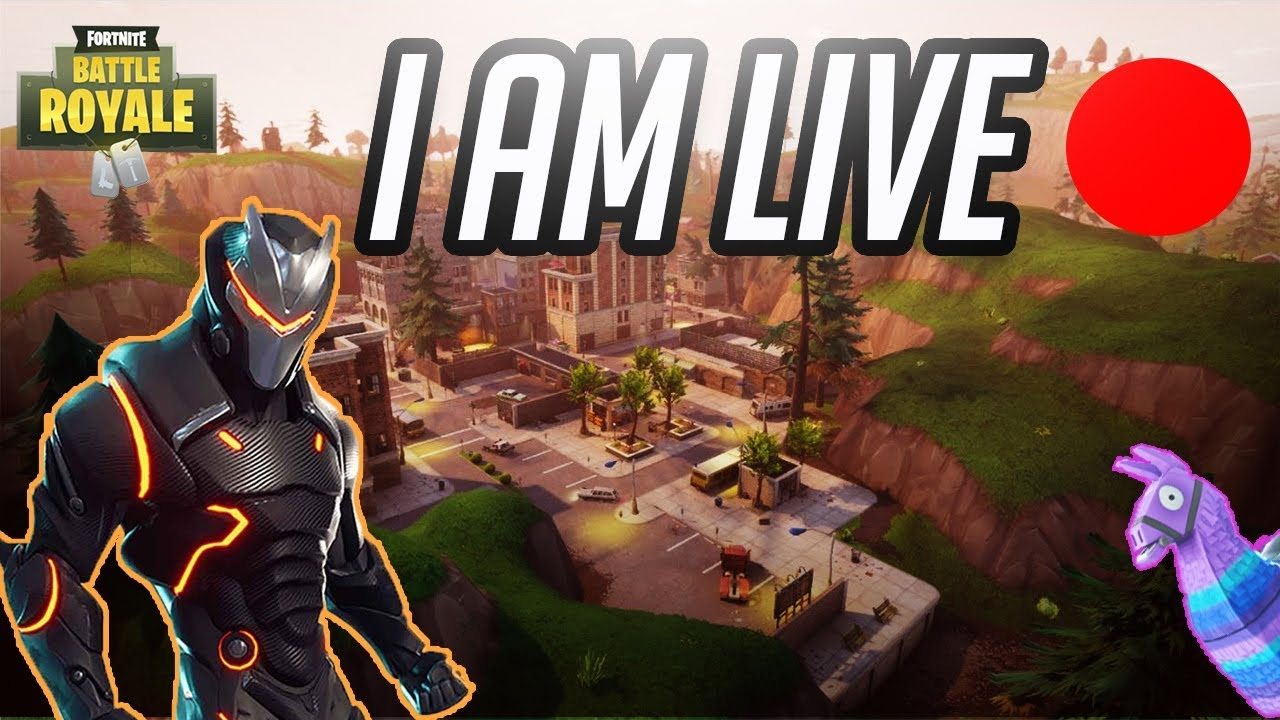 Giveaway live stream fortnite