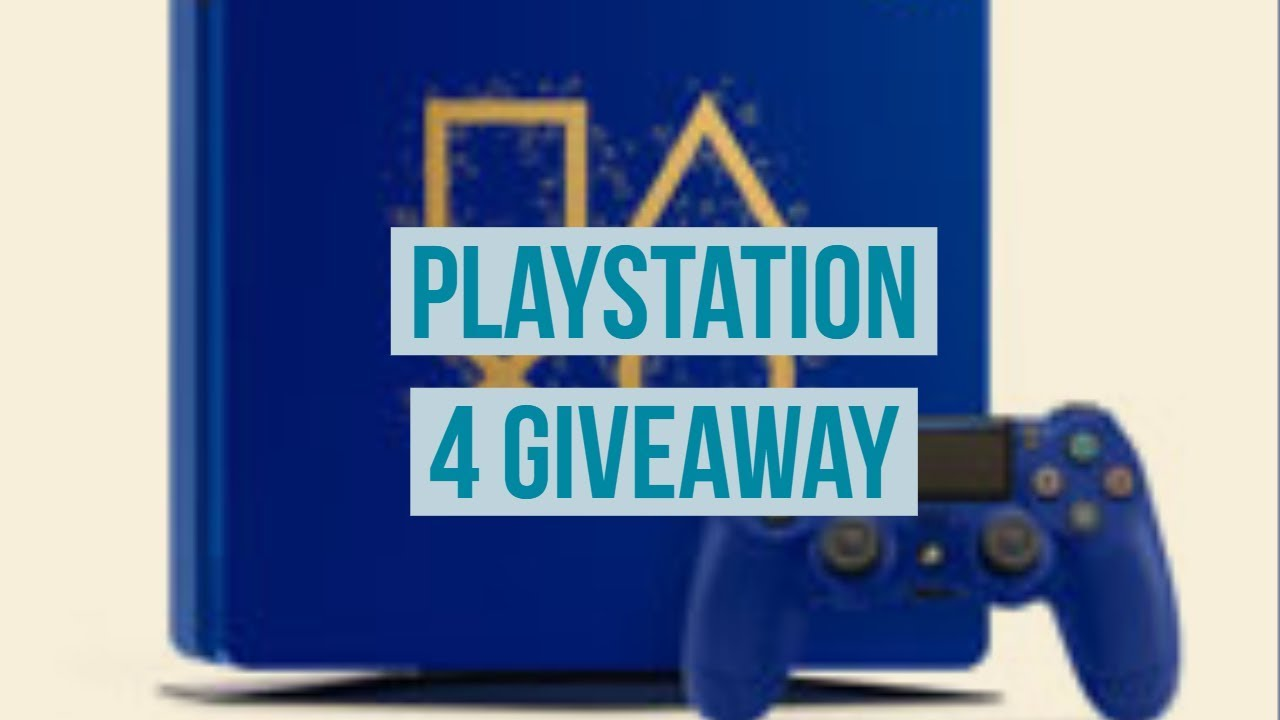 "LIMITED EDITION PS4 ""Days Of Play""$1 GIVEAWAY!!!!!!"