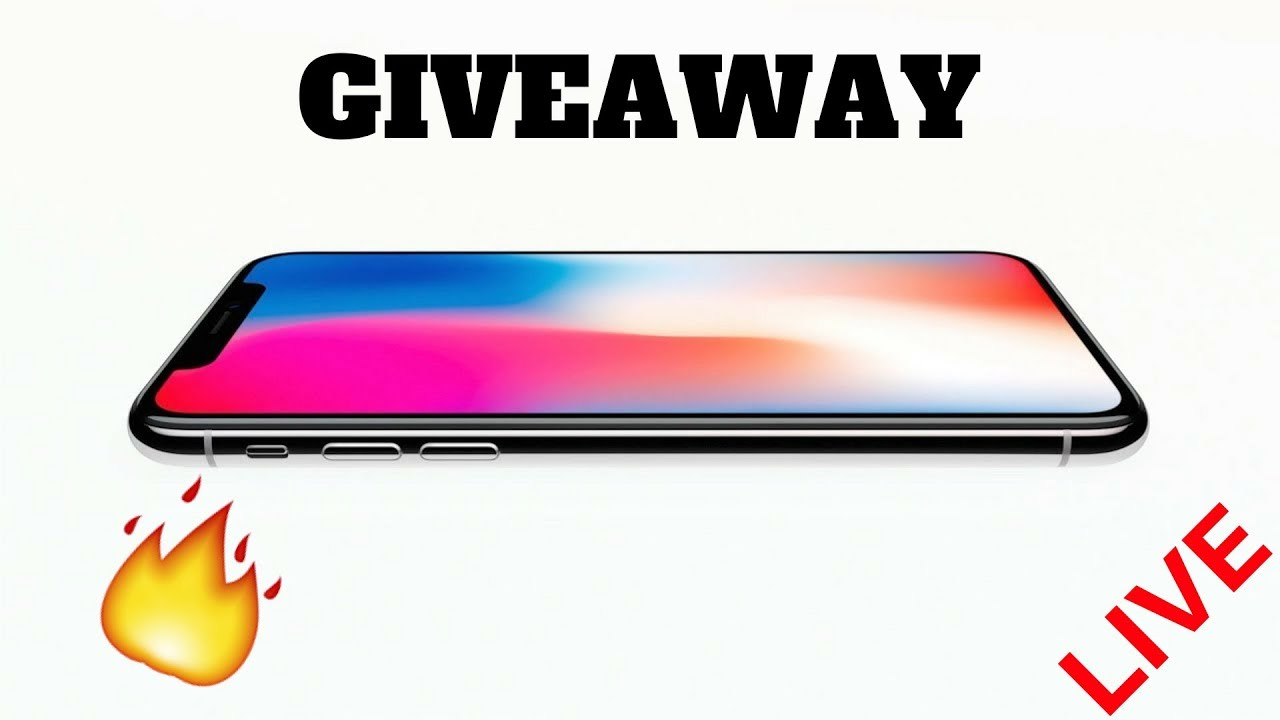 Iphone X Giveaway – 2018