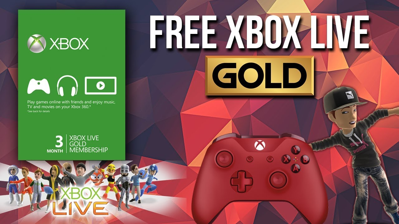 How to Get Free Xbox Live Gold Membership 2018! (Giveaway)