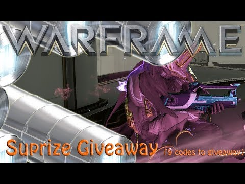 Warframe – Suprize Giveaway (9 codes to giveaway)