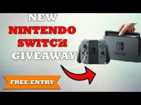 Free Nintendo switch giveaway
