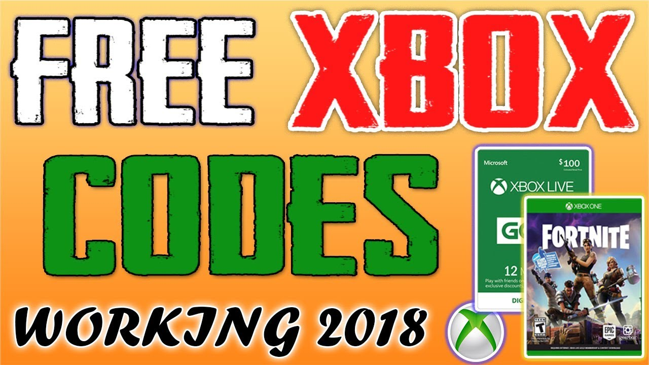 New How To Get Free Xbox Live Gold Free Xbox Codes Live Free