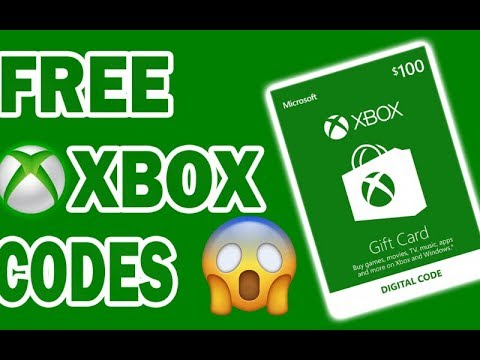 How to get free xbox codes -Free xbox live codes 2018