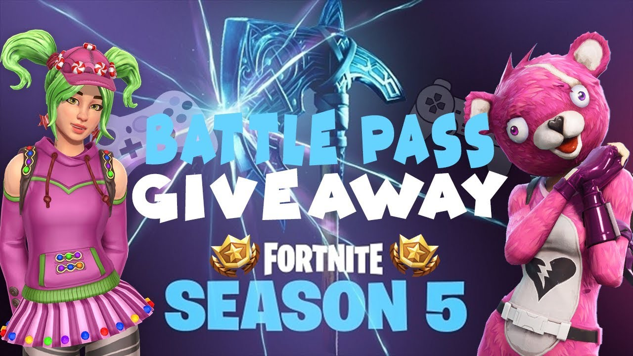 SEASON 5 BATTLE PASS GIVEAWAY STREAM! XBOX AND PSN GIVEAWAY! COME CHAT!