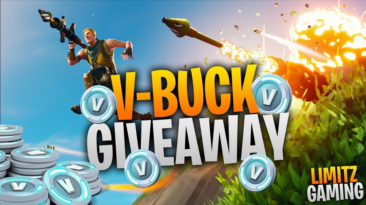 Fortnite Battle Royale *V-Buck giveaway tonight* Playing W/Subs (PS4 Pro / 1080p)