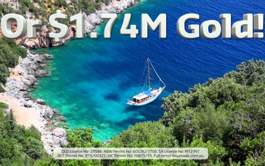 Win $1.74 Million in Gold or a Luxury Sydney Home!