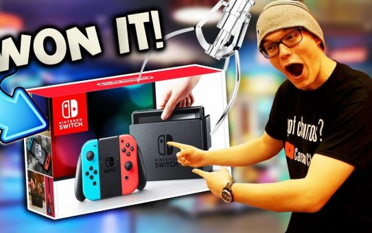 WINNING A NINTENDO SWITCH AT THE ARCADE!